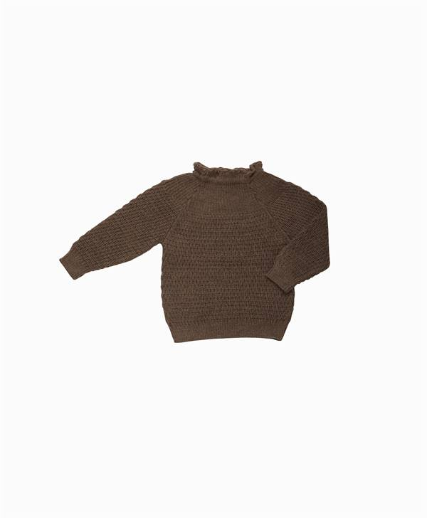 Selana - Uld Sweater - Chocolate